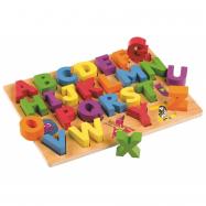 Tidlo drewniane edukacyjne ABC Board