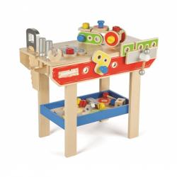 Zestaw narzędzi, warsztat do zabawy dla dzieci