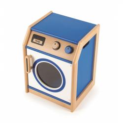 Tidlo dřevěná pračka modrá