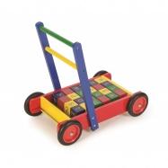 Tidlo vozíček s ABC kockami