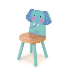 Tidlo dřevěná židle Animal slon
