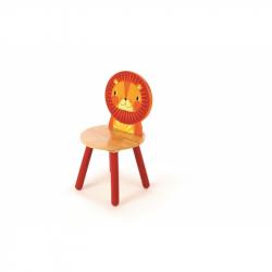 Tidlo drevená stolička Animal lev