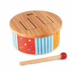 Tidlo drewniane Rainbow muzyczne Drum