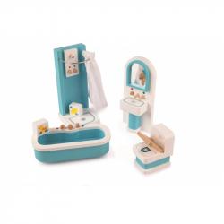 Łazienka - mebelki do domku dla lalek, Tidlo