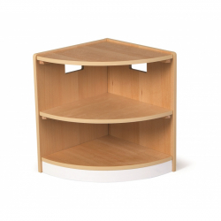 Tidlo drevená rohová skrinka Toddler