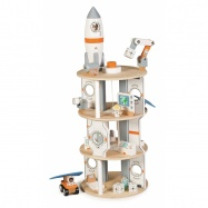 Tidlo dřevěná vesmírná stanice