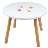 Tidlo Drevený stôl hospodárska zvieratka