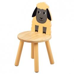 Tidlo Drevená stolička ovečka