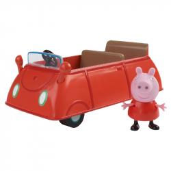 Samochód rodzinny + figurka prosiaczka Peppa