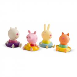 Peppa Pig figurky do koupele 4 ks