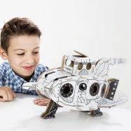 Kartónová 3D skladačka TO DO Raketa