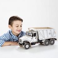 Kartonová 3D skládačka TO DO Nákladní auto sklápěčka