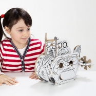 Kartónová 3D skladačka TO DO Ponorka