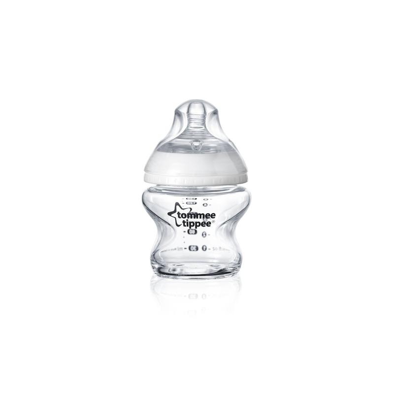 Kojenecká láhev C2N 150ml skleněná, 0m+