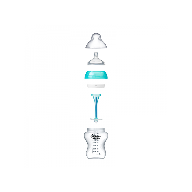 Butelki antykolkowe 2x260ml,0m+,Tommee Tippee