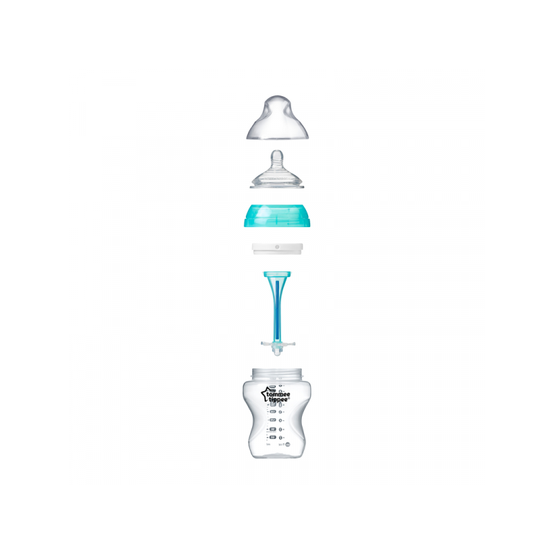 Tommee Tippee Butelka antykolkowa ADVANCED 340 ml