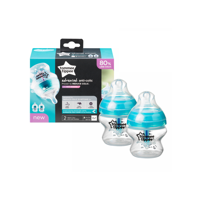 Tommee Tippee Butelka antykolkowa ADVANCED 2x150ml