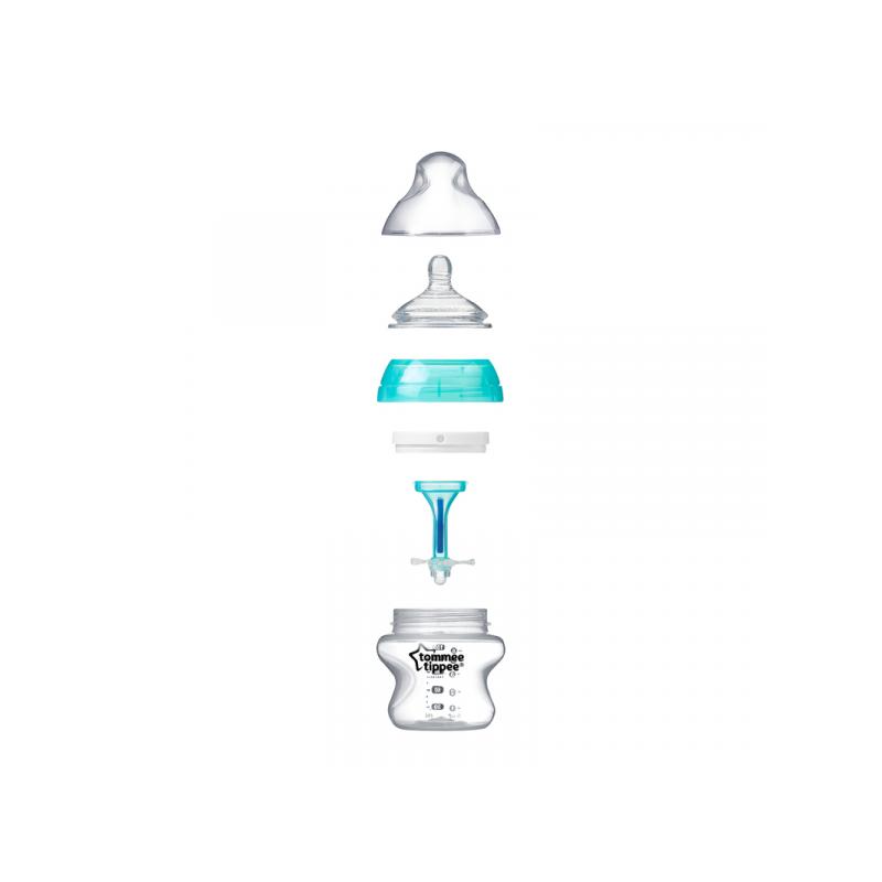 Kojenecká láhev C2N ANTI-COLIC 150ml 2ks 0m+