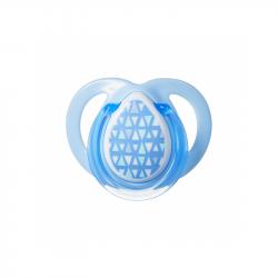 Cumlík C2N silikón Moda 0-6m modré
