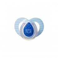 Cumlík C2N silikón Moda 6-18m modré