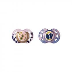 Cumlík C2N silikón Moda 2ks 18-36 ružové