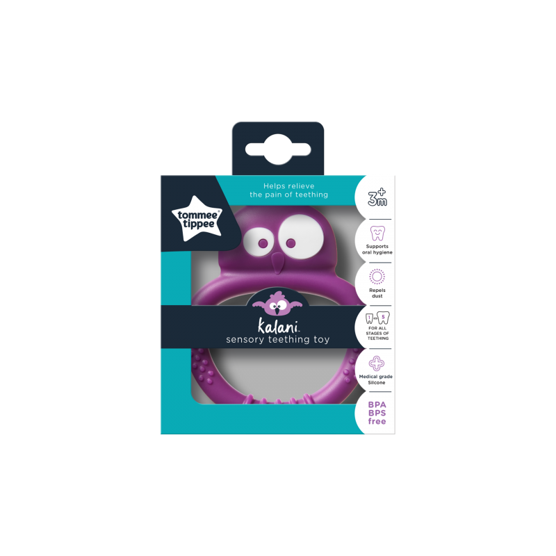 Kousátko senzorické Kalani Mini fialové