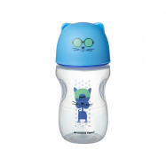 Hrnček s náustkom Soft 300ml 12m + Blue