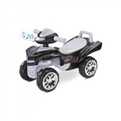 Odrážadlo štvorkolka Toyz miniRaptor šedej