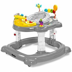 Detské chodítko Toyz HipHop 3v1 šedej