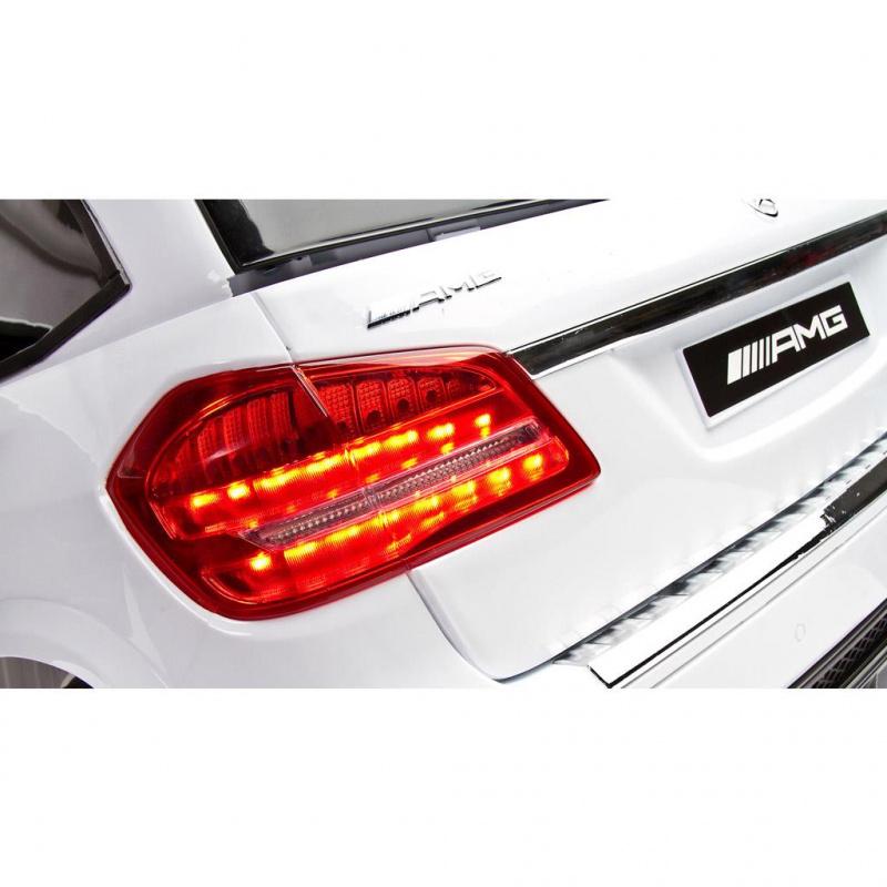 Mercedes GLS63 Biały Samochód na akumulator + PILOT