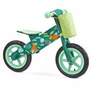 Dětské odrážedlo kolo Toyz  Zap green