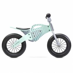 Dětské odrážedlo kolo Toyz Enduro mint