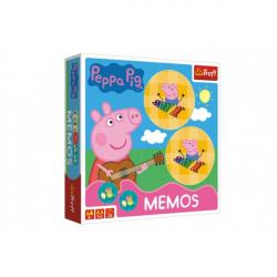 Pexeso papierové Prasiatko Peppa / modré plavky spoločenská hra 36 kusov v krabici 20x20x5cm