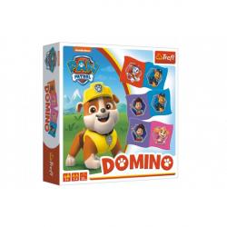 Domino papírové Paw Patrol / Tlapková patrola 28 kartiček společenská hra v krabici
