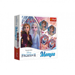 Papier Pexeso Ice Kingdom II / Frozen II gra planszowa 36 sztuk w pudełku 20x20x5 cm