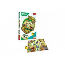 Človeče, nehnevaj sa s Rodinou Trefliků spoločenská hra v krabici 19x29x4 cm