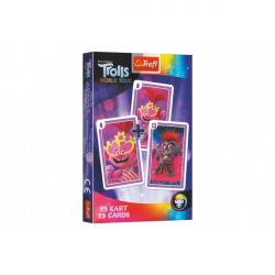 Čierny Peter Trolls / Trollovia spoločenská hra - karty v krabičke 6x9x1cm 20ks v boxe