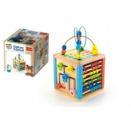 Kostka edukační dřevěná Wooden Toys