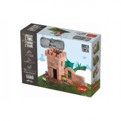 Stavajte z tehál Veža stavebnice Brick Trick