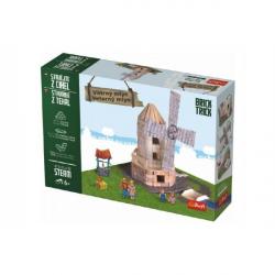 Stavajte z tehál Veterný mlyn stavebnica Brick Trick