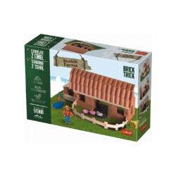 Stavajte z tehál Statok stavebnice Brick Trick