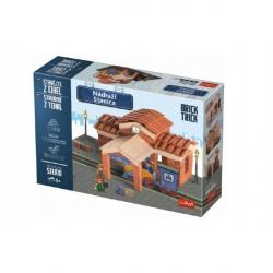 Stavějte z cihel Nádraží stavebnice Brick Trick