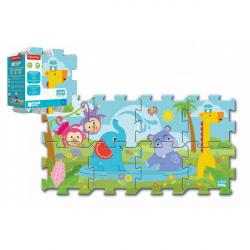 Penové puzzle Fisher Price Baby 31x32cm 8ks v sáčku