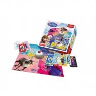Boom Boom Ledové království/Frozen společenská hra 26x26x8cm v krabici