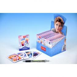 Čierny Peter Ľadové kráľovstvo / Frozen spoločenská hra - karty v papierovej krabičke 6x9cm