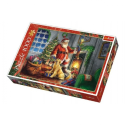 Puzzle Collage Christmas Time Prezent 1000 sztuk w pudełku