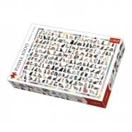 Puzzle 208 Kočiček 1000 dílků 68x48cm v krabici 40 x 27 x 6 cm