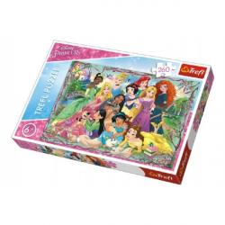 Puzzle Princezné 260 dielikov 60 x 40 cm