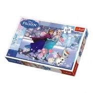 Puzzle Frozen/Ledové království 41x27,5cm 160 dílků