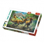 Puzzle Dinosauři/Tyranosaurus 41x27,5cm 160 dílků